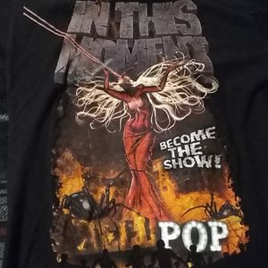 IN THIS MONENT HELL POP TSHIRT
